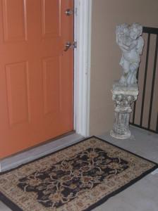 Cherub at the Door